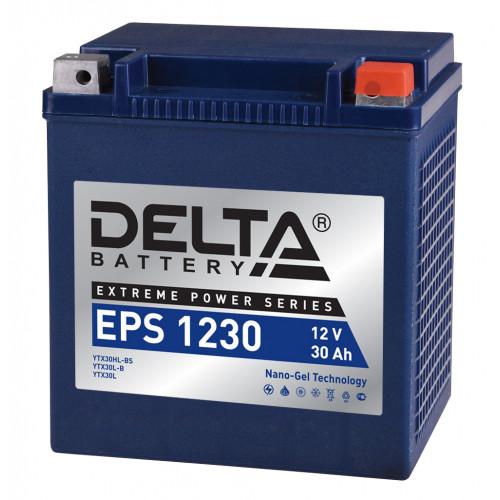 Аккумулятор DELTA EPS 1230 Nano-Gel 30 о (мото)