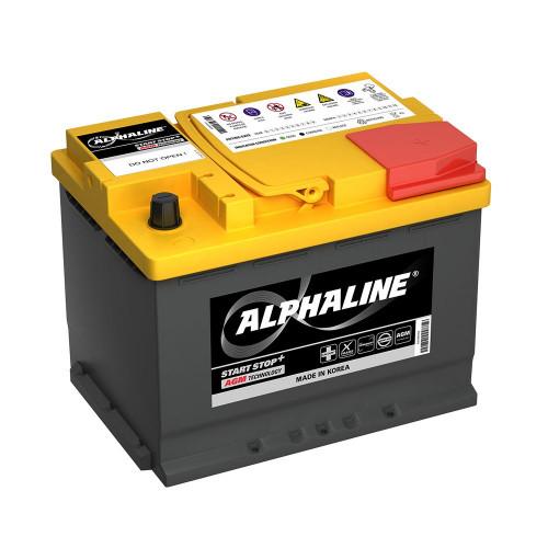 Автомобильный аккумулятор AlphaLINE AGM 60.0 L2 (AX 56020) 60Ah