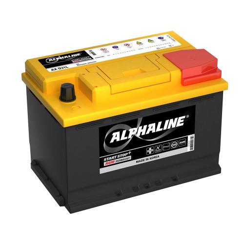 Автомобильный аккумулятор AlphaLINE AGM 70.0 L3 (AX 57020) 70 Ah