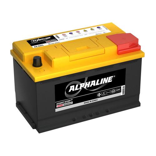 Автомобильный аккумулятор AlphaLINE AGM 80.0 L4 (AX 58020) 80 Ач