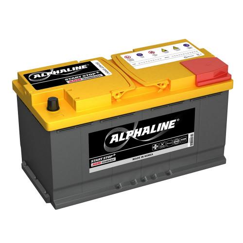 Автомобильный аккумулятор AlphaLINE AGM 95.0 L5 (AX 59520) 95Ач