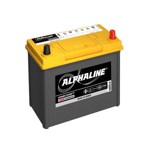 Автомобильный аккумулятор AlphaLINE AGM AX B24L 45Ач