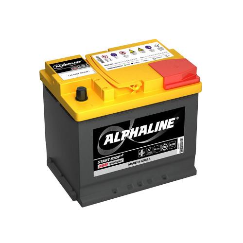 Автомобильный аккумулятор ALPHALINE AGM AX D23L 50 Ah