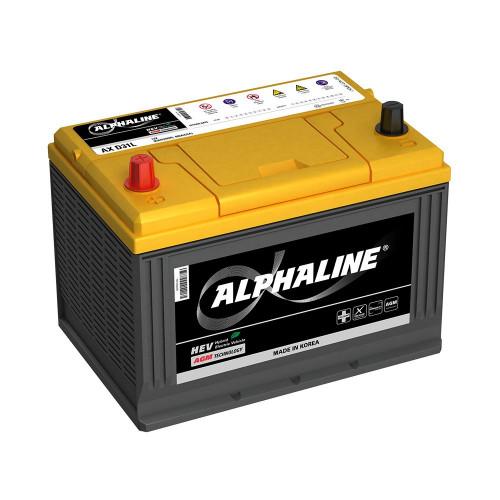 Автомобильный аккумулятор ALPHALINE AGM AX D26R 75 Ah