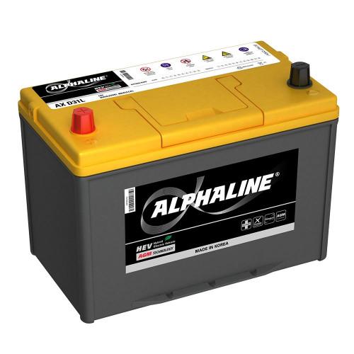 Автомобильный аккумулятор AlphaLINE AGM AX D31R (90)