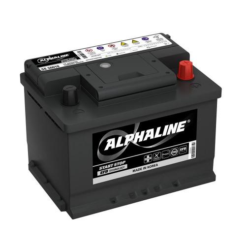 Автомобильный аккумулятор AlphaLine EFB 60Ач (SE 56010)