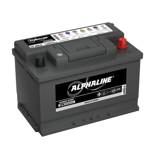 Автомобильный аккумулятор AlphaLine EFB 70 Ач (SE 57010) L3