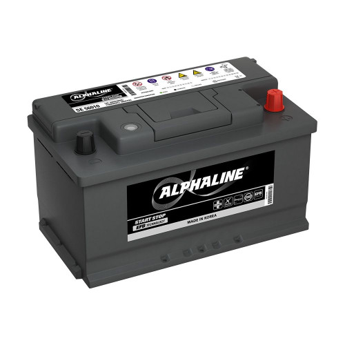 Автомобильный аккумулятор AlphaLine EFB 75.0 Ач (SE 57510) LB4 низкий