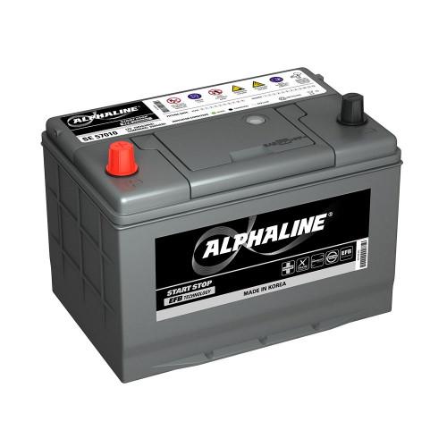 Автомобильный аккумулятор AlphaLine EFB 68 Ач (SE 100D26R)