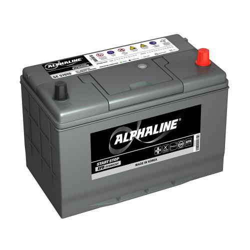 Автомобильный аккумулятор AlphaLINE EFB SE 115D31L (80)