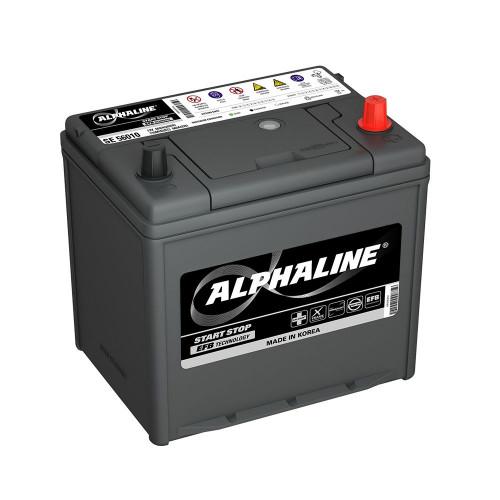 Автомобильный аккумулятор AlphaLine EFB 65 Ач (SE 90D23L)
