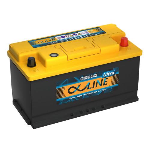 Автомобильный аккумулятор AlphaLINE ULTRA 105.0 L5 (60500)