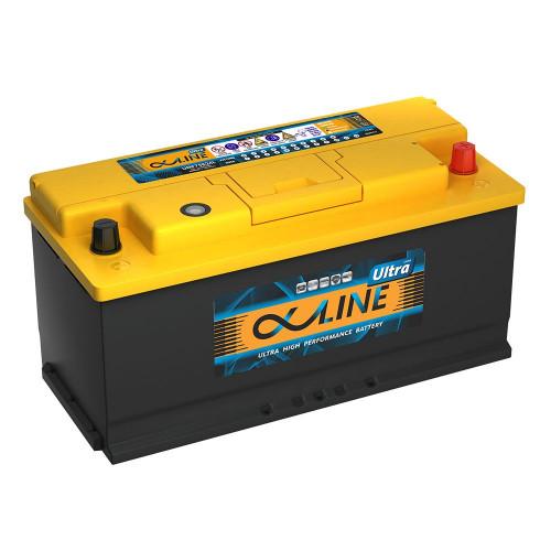 Автомобильный аккумулятор AlphaLINE ULTRA 110.0 L6 (61000)