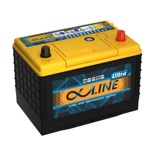 Автомобильный аккумулятор AlphaLine Ultra 88 Ач (UMF115D26L)