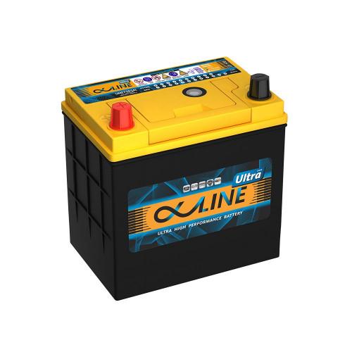 Автомобильный аккумулятор AlphaLINE ULTRA 55B19R 50Ah