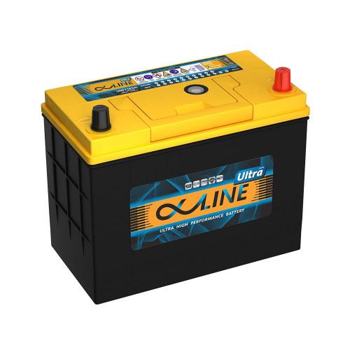 Автомобильный аккумулятор AlphaLINE ULTRA 75B24L (59)