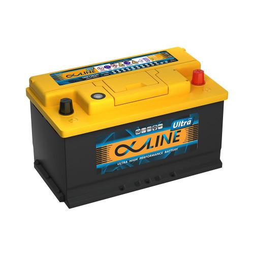 Автомобильный аккумулятор AlphaLine Ultra 80.0 Ач (UMF58000) LB4