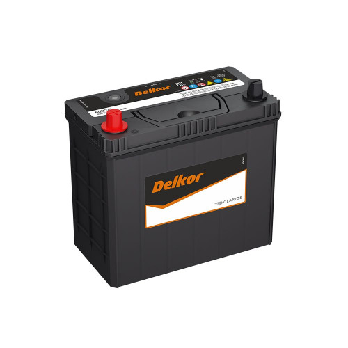 Автомобильный аккумулятор DELKOR 60B24R (45) пр