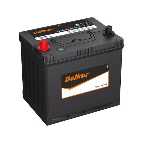 Автомобильный аккумулятор DELKOR 75D23R (65) пр