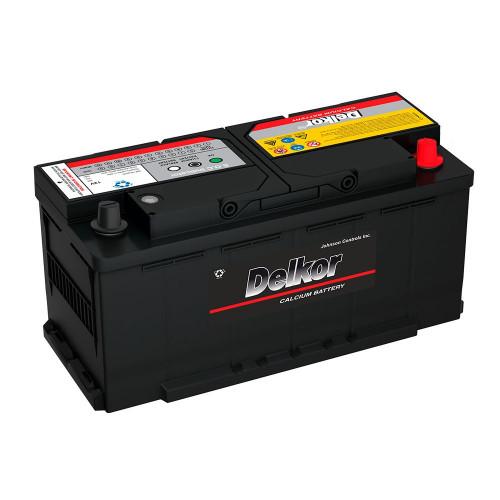 Автомобильный аккумулятор DELKOR Euro 110.0 L6 (61038)