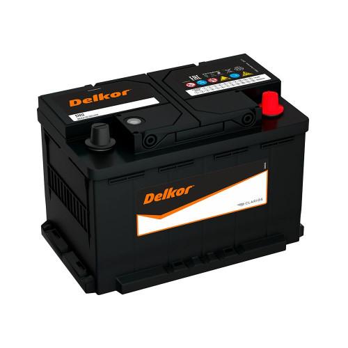 Автомобильный аккумулятор DELKOR Euro 74.1 L3 (57413)