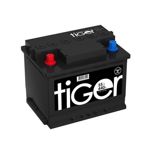 Автомобильный аккумулятор Tiger Аком 55 Ач прямой полярности