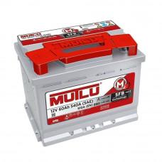 Автомобильный аккумулятор Mutlu SFB 3 (L2.60.054) 60 Ач
