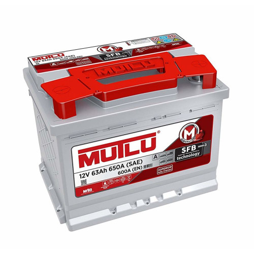 Автомобильный аккумулятор Mutlu SFB 3 (L2.63.060) 63 Ач