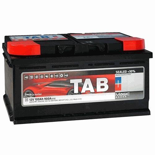 Автомобильный аккумулятор Tab Magic 100