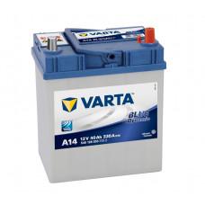 Аккумулятор VARTA Blue Dynamic 40 Ah для азиатских авто с тонкими клеммами