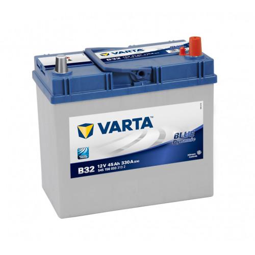 Аккумулятор VARTA Blue Dynamic 45 Ah для азиатских авто с тонкими клеммами
