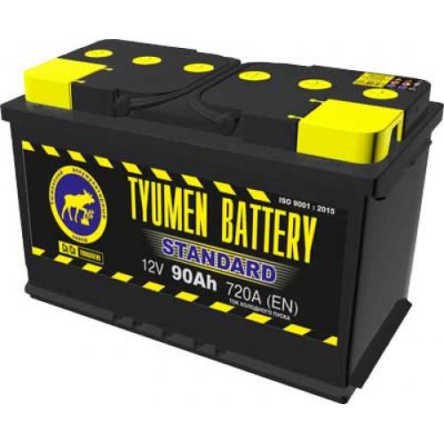 Тюменский аккумулятор TYUMEN BATTERY STANDARD 6СТ-90L 90 Ah