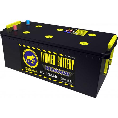 Тюменский аккумулятор TYUMEN BATTERY STANDARD 6СТ-132