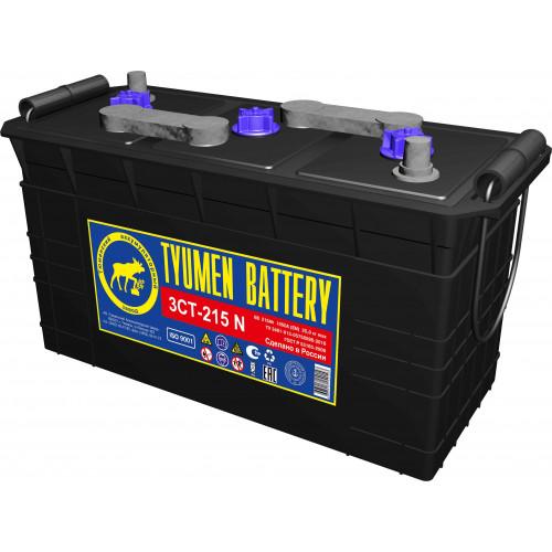 Тюменский аккумулятор TYUMEN BATTERY 3СТ-215N 215Ah