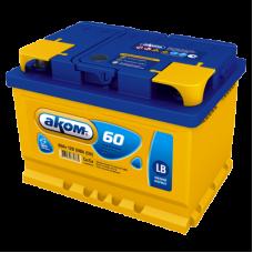 Автомобильный аккумулятор АКОМ 6СТ-60 LB 60 Ач
