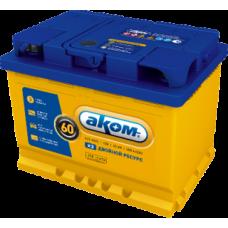 Автомобильный аккумулятор АКОМ + EFB 60 Ач