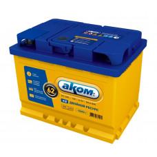 Автомобильный аккумулятор АКОМ + EFB 62 Ач