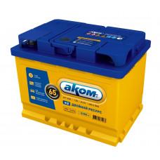 Автомобильный аккумулятор АКОМ + EFB 65 Ач