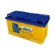 Автомобильный аккумулятор АКОМ + EFB 100 Ач