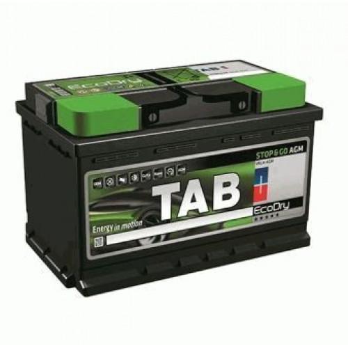 Автомобильный аккумулятор Tab ECODRY Stop&Go 60 AGM