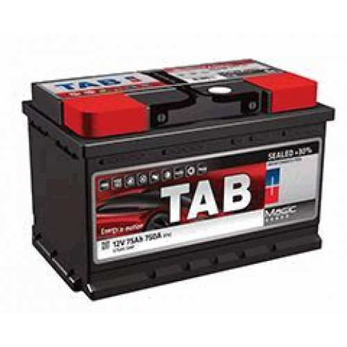 Автомобильный аккумулятор Tab Magic 62