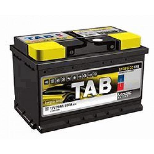 Автомобильный аккумулятор Tab Magic Stop&Go EFB 70