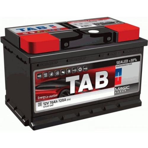 Автомобильный аккумулятор Tab Magic 85