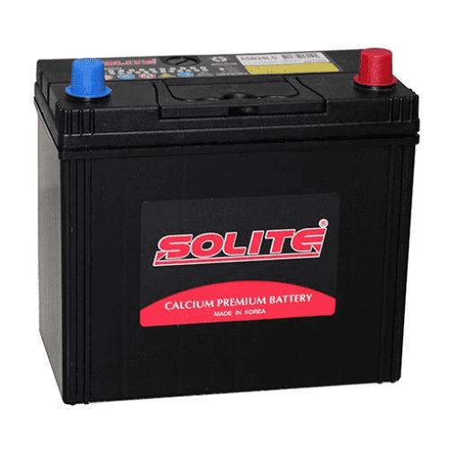 Аккумулятор SOLITE Silver 59 Ah для азиатских авто с тонкими клеммами