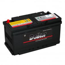 Автомобильный аккумулятор DELKOR (L5) 100 Ач