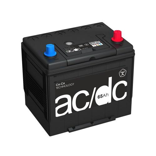 Автомобильный аккумулятор AC/DC (D23) 65 Ач