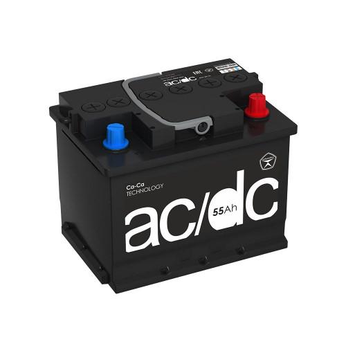 Автомобильный аккумулятор AC/DC (L2) 55 Ач