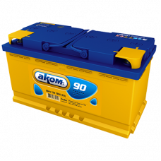 Автомобильный аккумулятор АКОМ 6СТ-90 90 Ач