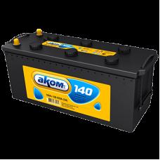 Автомобильный аккумулятор АКОМ 6СТ-140 140 Ач