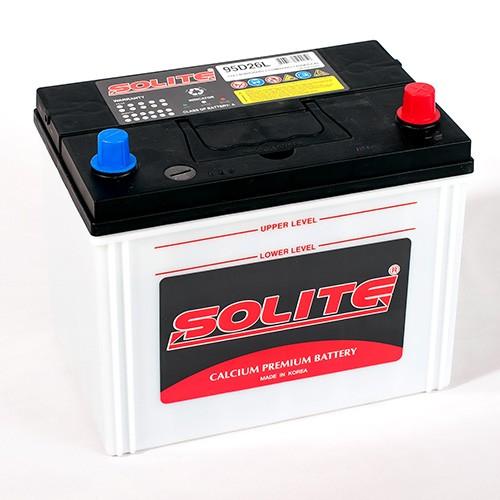 Аккумулятор SOLITE CMF 85 Ah для азиатских авто с нижним креплением
